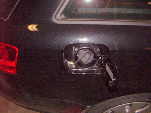 Audi A4 Avant 2.0 Außenansicht nach Einbau einer LPG-Autogas Anlage