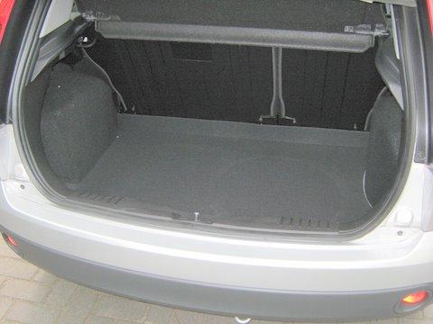 Ford Fiesta Kofferraum nach Einbau einer LPG-Autogas Anlage