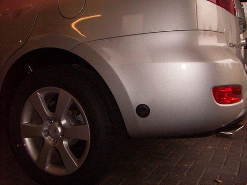 Hyundai Santa Fe Einfüllstutzen nach Einbau einer LPG-Autogas Anlage