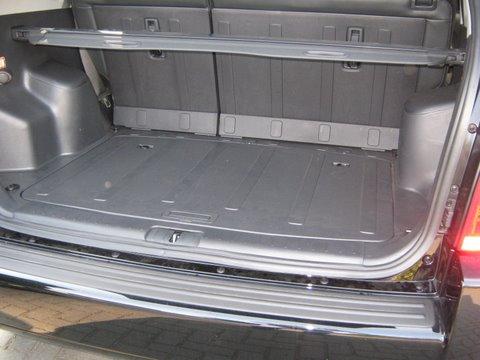 Hyundai Tucson Kofferrraum nach Einbau einer LPG-Autogas Anlage