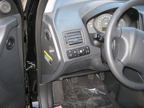 Hyundai Tucson 2.0i Innenraum nach Einbau einer LPG-Autogas Anlage