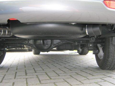 Kia Sorento Unterflurtank nach Einbau einer LPG-Autogas Anlage