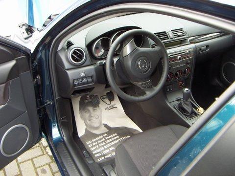 Mazda 3 1.6 Innenraum nach Einbau einer LPG-Autogas Anlage