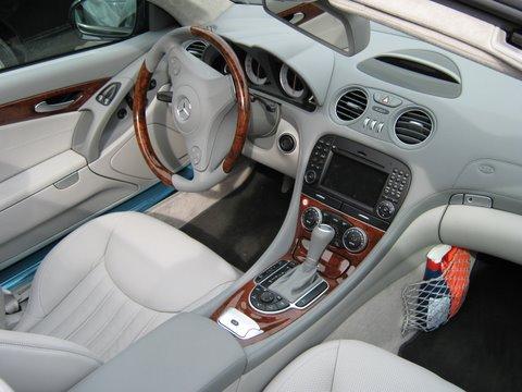 Mercedes SL500 Innenansicht nach Einbau einer LPG-Autogas Anlage