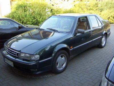 Saab 9000 2.3 turbo Außenansicht nach Einbau einer LPG-Autogas Anlage