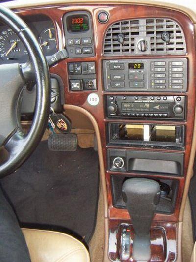 Saab 9000 2.3 turbo Innenraum nach Einbau einer LPG-Autogas Anlage