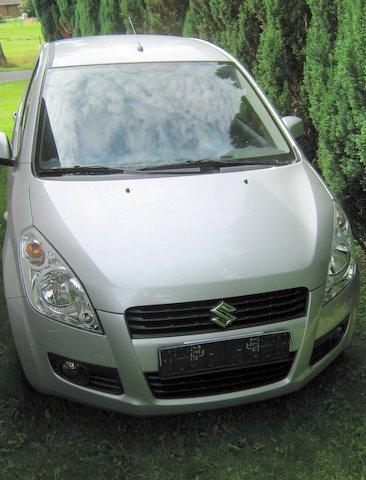 Suzuki Splash 1.2 Frontansicht nach Einbau einer LPG-Autogas Anlage
