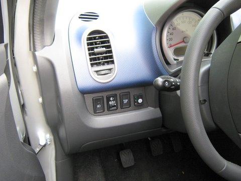 Suzuki Splash 1.2 Innenraum nach Einbau einer LPG-Autogas Anlage