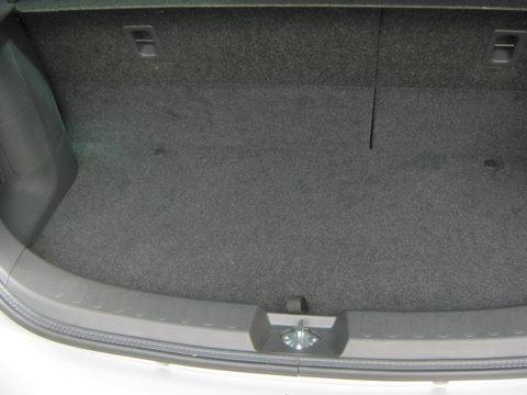Suzuki Splash 1.2 Kofferraum nach Einbau einer LPG-Autogas Anlage