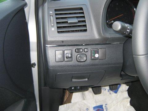 Toyota Avensis Innenansicht einer LPG-Autogas Anlage