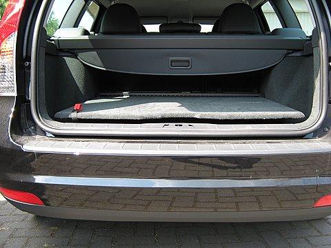 Volvo V50 1.8 Kofferraum nach Einbau einer LPG-Autogas Anlage