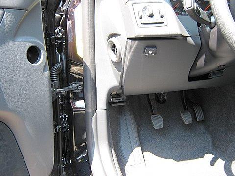 Volvo V50 1.8 Innenraum nach Einbau einer LPG-Autogas Anlage