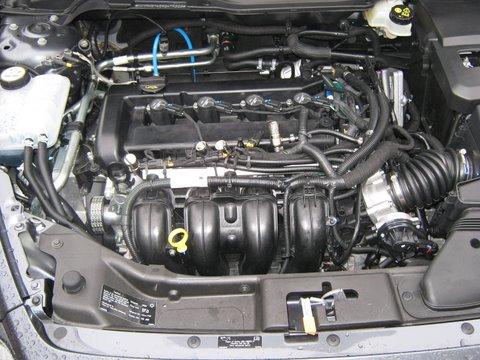 Volvo V50 1.8 Motorraum nach Einbau einer LPG-Autogas Anlage