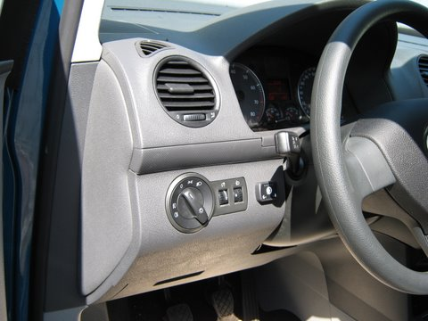 Volkswagen VW Caddy Innenraum nach Einbau einer LPG-Autogas Anlage
