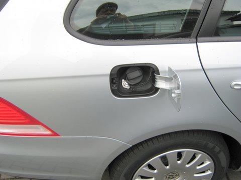 Volkswagen VW Golf Variant Innenraum nach Einbau einer LPG-Autogas Anlage