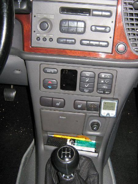 Saab 9.3 2.0 Cabrio Innenraum nach Einbau einer LPG-Autogas Anlage