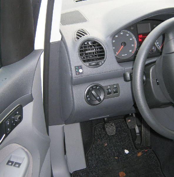 Volkswagen VW Caddy Maxi Innenraum nach Einbau einer LPG-Autogas Anlage
