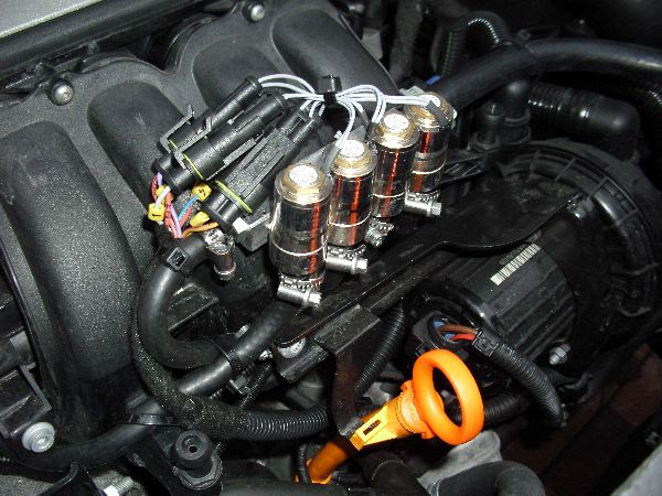 Volkswagen VW Caddy Maxi Kasten Multiventil / LPG Autogas: Anlage KME Diego G3