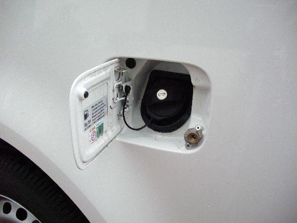 Volkswagen VW Caddy Maxi Kasten Tankstutzen / LPG Autogas: Anlage KME Diego G3