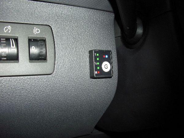 Volkswagen VW Caddy Maxi Kasten Innenraum / LPG Autogas: Anlage KME Diego G3