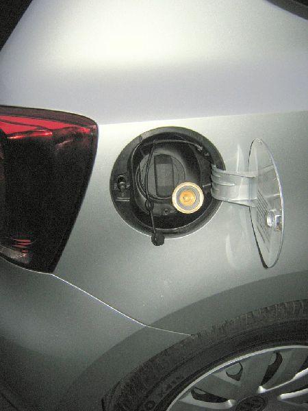 Tankstutzen mit Adapter